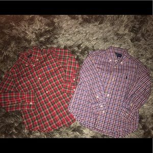 Toddler Boy Ralph Lauren Button Down Shirts